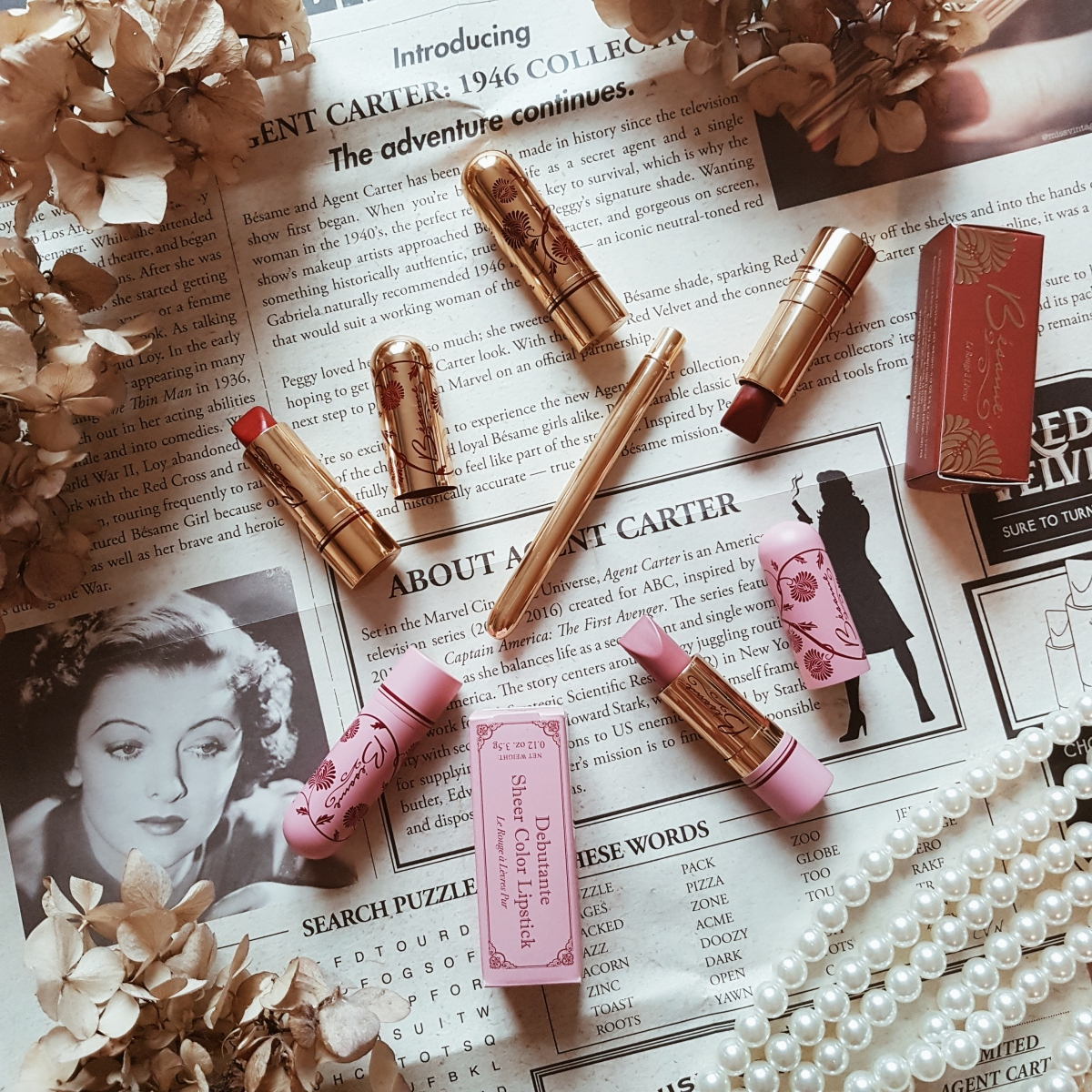 Perfect Vintage Lips with Besame Cosmetics